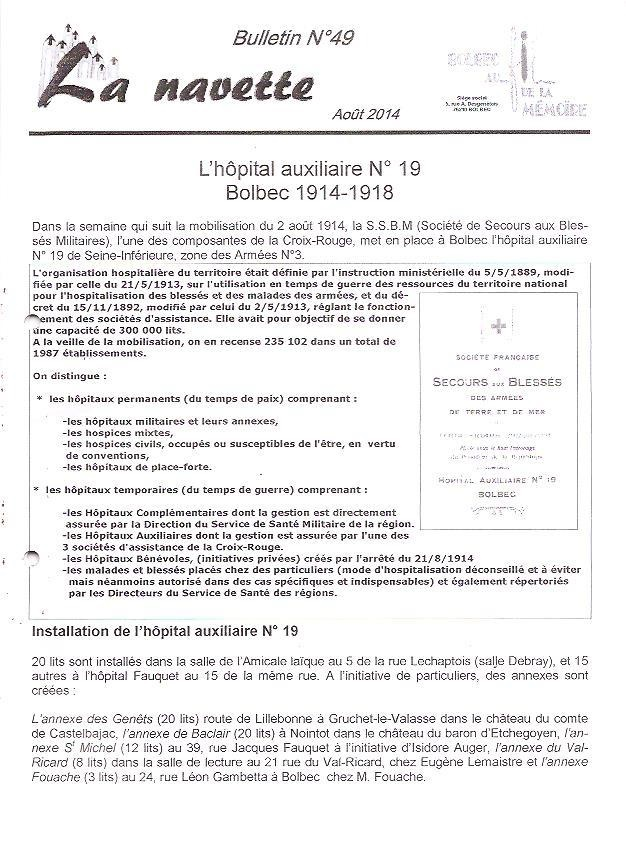 1 hopital auxiliaire no 19