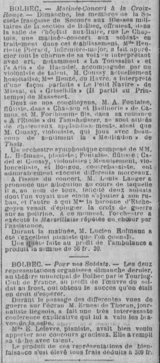 19170418 matinee concert