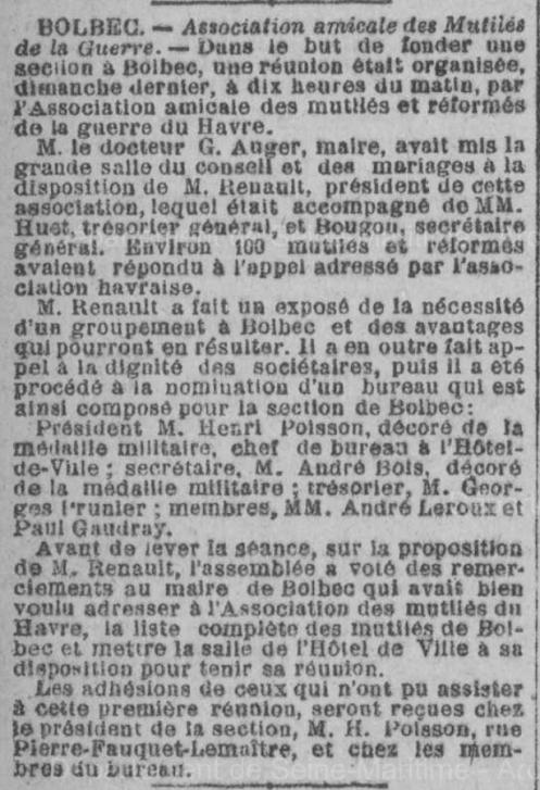19180514 association amicale des mutiles