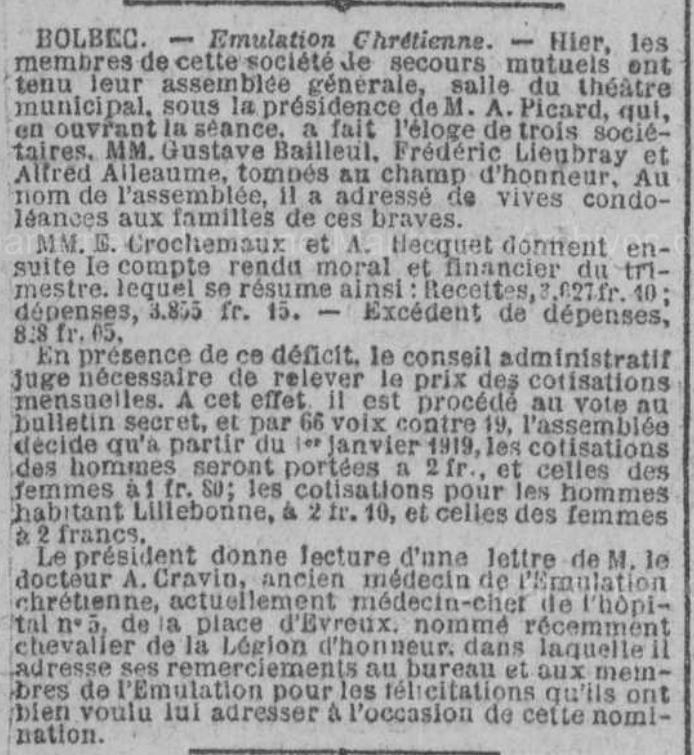 19180819 emulation chretienne lieubray et alleaume