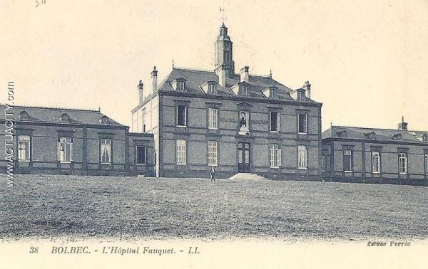 hôpital bolbec