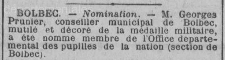 19210116 prunier membre pupilles de la nation