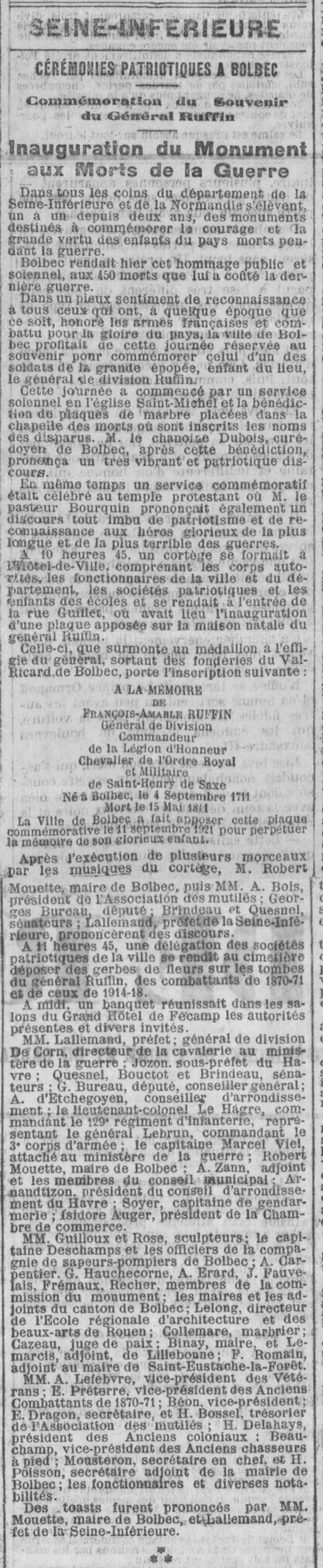19210912 inauguration du mam bolbec 1