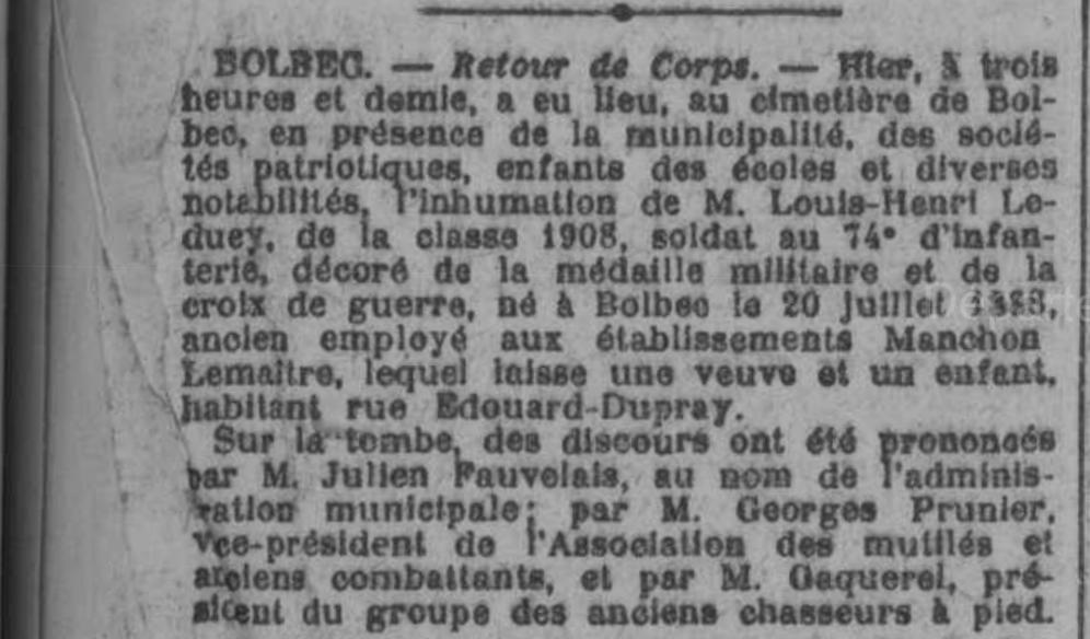 19220507 inhumation leduey