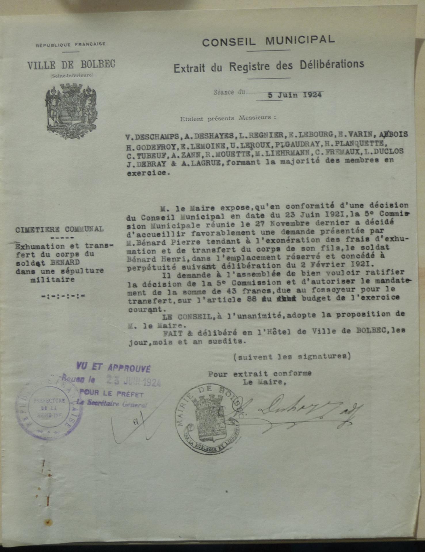 19240605 benard exoneration des frais