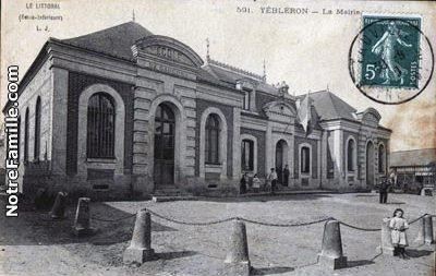 Cartes postales photos la mairie yebleron 76640 1678 20070730 e9w4i3j2o8p5d5m9z5j6 jpg 1 maxi