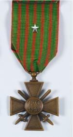 Croix de guerre de la guerre 14 19