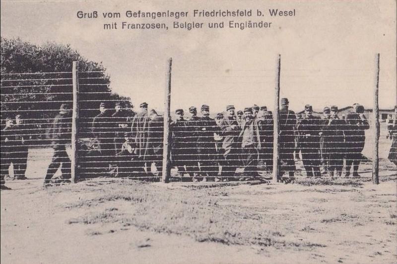 Friedrichsfeld prisonniers francais