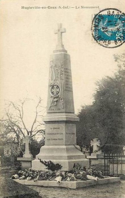 Hugleville en caux monument morts
