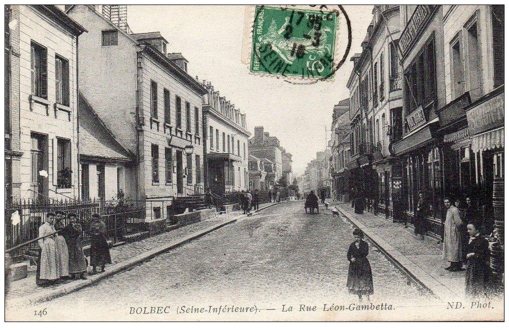 Rue gambetta en 1916
